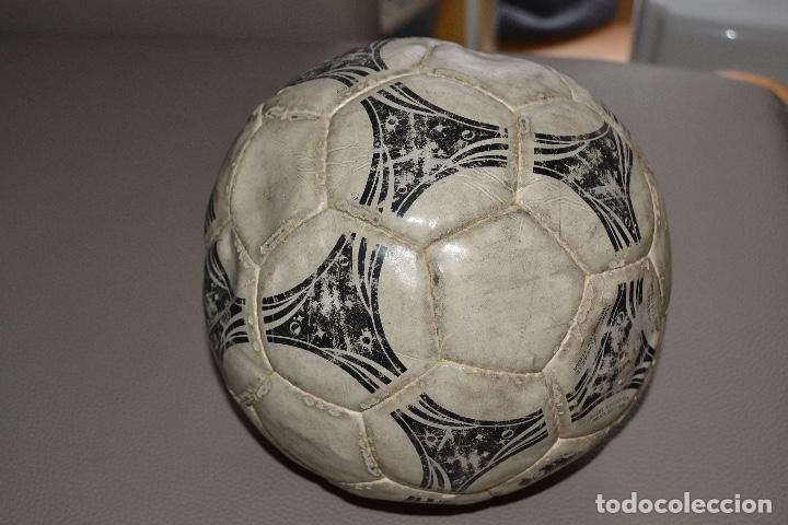 Coleccionismo deportivo: BALON DE FUTBOL ADIDAS QUESTRA. MUNDIAL DE ESTADOS UNIDOS 1994 - Foto 3 - 183820615