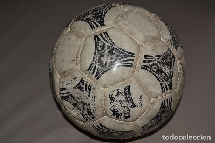 Coleccionismo deportivo: BALON DE FUTBOL ADIDAS QUESTRA. MUNDIAL DE ESTADOS UNIDOS 1994 - Foto 4 - 183820615