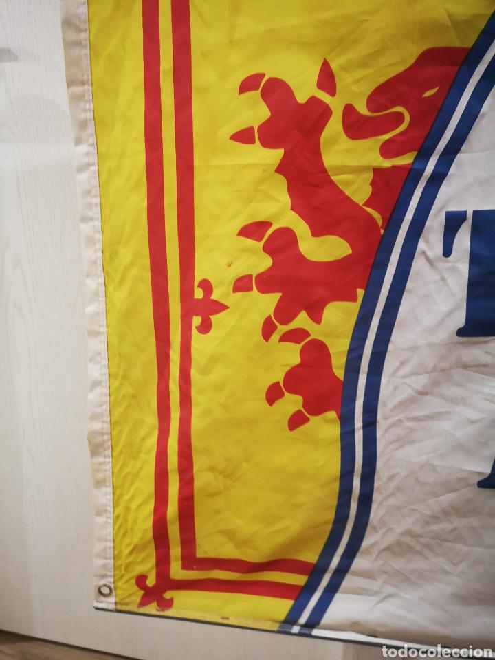 Coleccionismo deportivo: 150 x 90 the tartan Army daily Records bandera - Foto 2 - 183851333