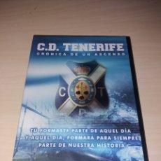 Coleccionismo deportivo: DVD - CD TENERIFE, CRÓNICA DE UN ASCENSO - PRECINTADO. Lote 184189858