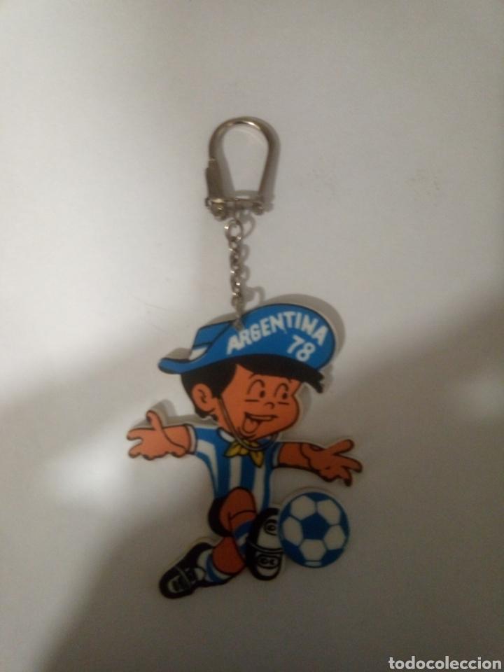 ANTIGUO LLAVERO DE ARGENTINA 78 (Coleccionismo Deportivo - Merchandising y Mascotas - Futbol)