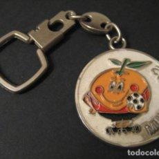Coleccionismo deportivo: LLAVERO FUTBOL MUNDIAL ESPAÑA 82. NARANJITO . Lote 135525638