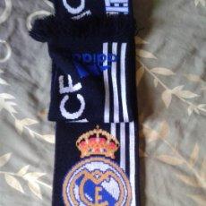 Coleccionismo deportivo: BUFANDA REAL MADRID ADIDAS. Lote 184770378