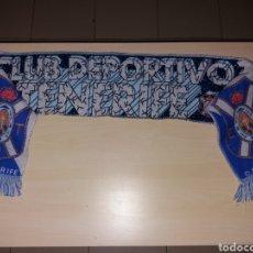 Coleccionismo deportivo: ANTIGUA BUFANDA CD TENERIFE. Lote 184912031