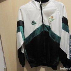 Coleccionismo deportivo: ANTIGUA CHAQUETA DE FUTBOL ORIGINAL KAPPA REAL BETIS BALOMPIE TALLA M. Lote 185289656