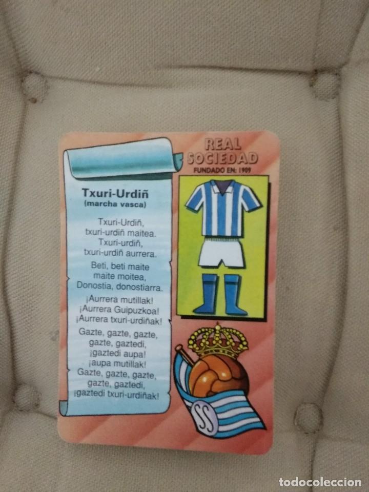 CALENDARIO REAL SOCIEDAD / TXURI URDIN -MARCHA VASCA / 1994 IKUSTEL (Coleccionismo Deportivo - Merchandising y Mascotas - Futbol)