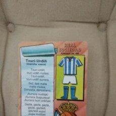 Coleccionismo deportivo: CALENDARIO REAL SOCIEDAD / TXURI URDIN -MARCHA VASCA / 1994 IKUSTEL . Lote 185598953