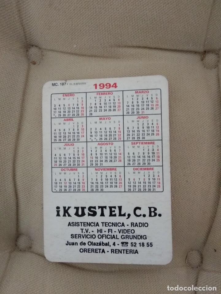 Coleccionismo deportivo: CALENDARIO REAL SOCIEDAD / TXURI URDIN -MARCHA VASCA / 1994 IKUSTEL - Foto 2 - 185598953
