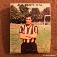 """Coleccionismo deportivo: JOSÉ ALBERTO ORTIZ """"ORTIZ"""". CAJETILLA DE CERILLAS DEL BARACALDO C.F. TEMPORADA 1973/74.. Lote 186111531"""