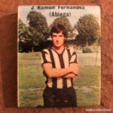 """Coleccionismo deportivo: JOSÉ RAMÓN FERNÁNDEZ """"ABIEGA"""". CAJETILLA DE CERILLAS DEL BARACALDO C.F. TEMPORADA 1973/74. Lote 186111565"""
