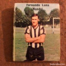 """Coleccionismo deportivo: FERNANDO LANA """"NANDO"""". CAJETILLA DE CERILLAS DEL BARACALDO C.F. TEMPORADA 1973/74.. Lote 186111716"""