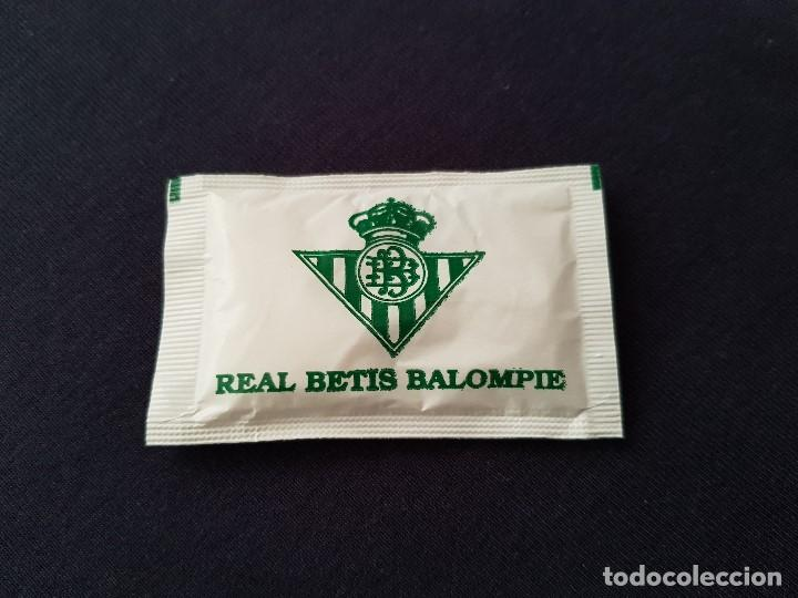 SOBRE DE AZÚCAR NUEVO REAL BETIS (Coleccionismo Deportivo - Merchandising y Mascotas - Futbol)
