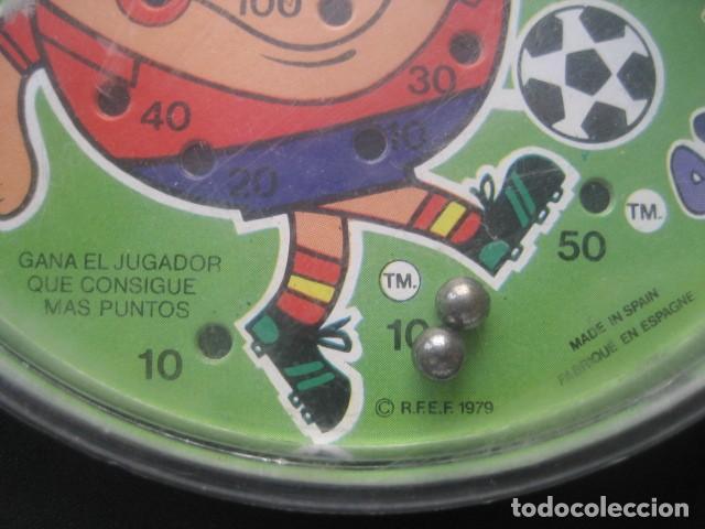Coleccionismo deportivo: JUEGO DE BOLAS. MUNDIAL DE FUTBOL ESPAÑA 1982. NARANJITO - Foto 3 - 187205686