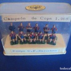 Coleccionismo deportivo: (F-191237)MINIPLOMS ALYMER EQUIPO C.F.BARCELONA CAMPEON DE COPA 1968. Lote 187492328
