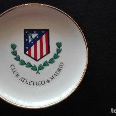 Coleccionismo deportivo: PLATO CERAMICA ATLETICO DE MADRID. Lote 188753477