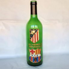 Coleccionismo deportivo: BOTELLA CONMEMORATIVA FC BARCELONA AT DE MADRID. Lote 189429918