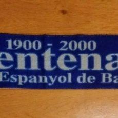 Coleccionismo deportivo: BUFANDA R.C.D. ESPANYOL. CENTENARI. 2000.. Lote 189715018