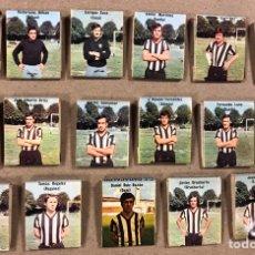 Coleccionismo deportivo: LOTE DE 17 CAJETILLA DE CERILLAS DEL BARACALDO C.F. TEMPORADA 1973/74. EUSEBIO RÍOS, DANIEL RUIZ BAZ. Lote 190221078