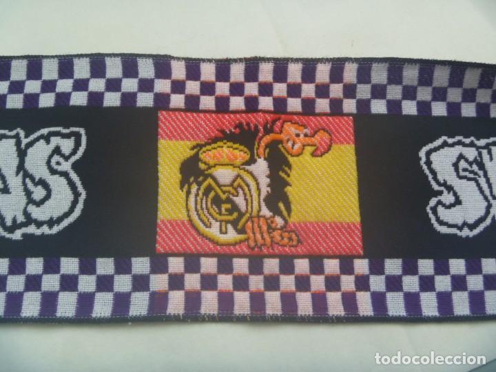 BUFANDA DE ULTRAS DE FUTBOL DEL REAL MADRID : ULTRAS SUR (Coleccionismo Deportivo - Merchandising y Mascotas - Futbol)
