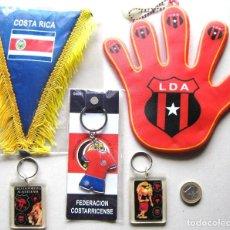 Coleccionismo deportivo: LOTE COSTA RICA + LIGA DEPORTIVA ALAJUELENSE ALAJUELA : LLAVEROS + BANDERINES. SET FOTO. Lote 191190630