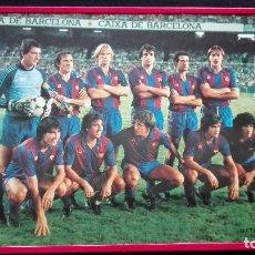 Coleccionismo deportivo: MARCO IMAGEN F.C. BARCELONA AÑOS 80. Lote 192256537