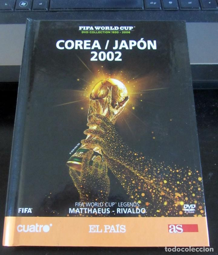 LIBRO DVD MUNDIAL FUTBOL COREA JAPON 2002 FIFA WORLD CUP LEGENDS MATTAEUS RIVALDO (Coleccionismo Deportivo - Merchandising y Mascotas - Futbol)