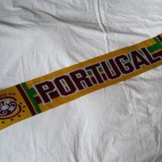 Coleccionismo deportivo: BUFANDA PORTUGAL EURO 2004. Lote 192790415