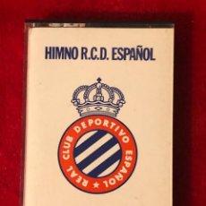 Coleccionismo deportivo: RCD ESPAÑOL HIMNO EN CASSETTE EDICION PRIVADA RARA. Lote 192911161