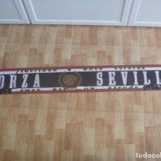 Coleccionismo deportivo: BUFANDA DE ULTRAS DE FUTBOL DEL SEVILLA C.F. : FORZA SEVILLA. Lote 193266786