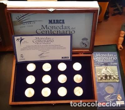 COLECCIÓN DE MONEDAS DEL CENTENARIO DEL REAL MADRID 1902-2002, DE MARCA (Coleccionismo Deportivo - Merchandising y Mascotas - Futbol)