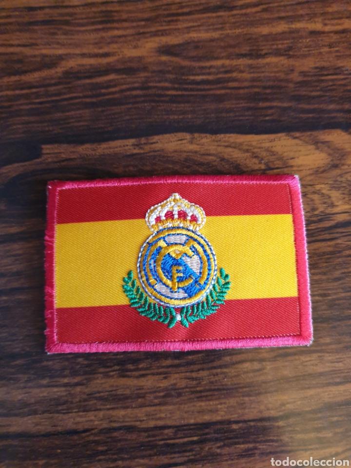 PARCHE REAL MADRID/ESPAÑA (Coleccionismo Deportivo - Merchandising y Mascotas - Futbol)