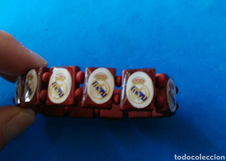 PULSERA VINTAGE DEL - REAL MADRID - ENVIO INCLUIDO. (Coleccionismo Deportivo - Merchandising y Mascotas - Futbol)