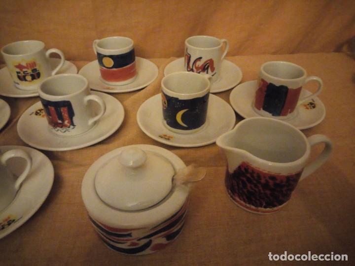 Coleccionismo deportivo: Colección completa del juego de café del centenario del FC Barcelona. Autor Vives Ferro - Foto 4 - 194241148