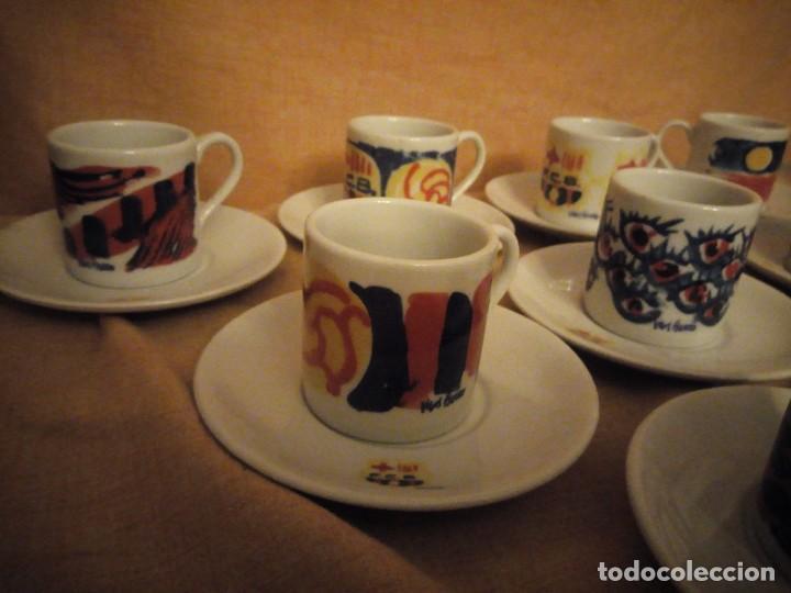 Coleccionismo deportivo: Colección completa del juego de café del centenario del FC Barcelona. Autor Vives Ferro - Foto 8 - 194241148