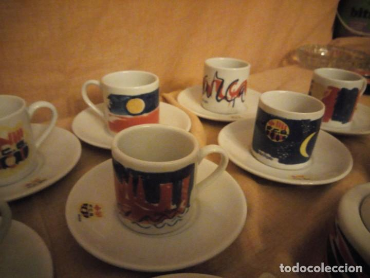 Coleccionismo deportivo: Colección completa del juego de café del centenario del FC Barcelona. Autor Vives Ferro - Foto 10 - 194241148