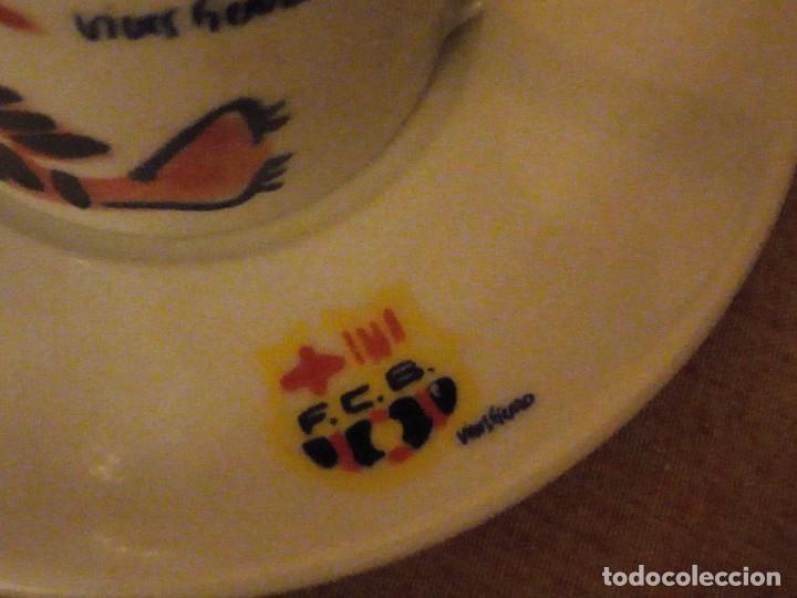 Coleccionismo deportivo: Colección completa del juego de café del centenario del FC Barcelona. Autor Vives Ferro - Foto 13 - 194241148