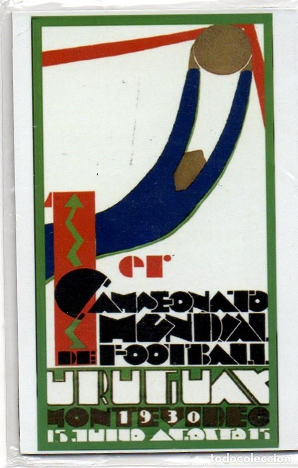 IMÁN,1ER CAMPEONATO MUNDIAL DE FOOTBALL URUGUAY 1930. PRECINTADO. FÚTBOL (Coleccionismo Deportivo - Merchandising y Mascotas - Futbol)