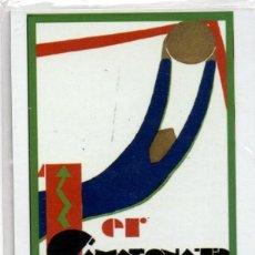 Coleccionismo deportivo: IMÁN 1ER CAMPEONATO MUNDIAL DE FOOTBALL URUGUAY 1930. PRECINTADO. FÚTBOL. Lote 194337993