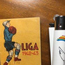 Coleccionismo deportivo: ALMANAQUE LIGA 42-43, PUBLICACIONES DEPORTIVAS, MARCADA A BOLI, VILR. Lote 194645866