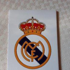 Coleccionismo deportivo: AZULEJO REAL MADRID FUTBOL. NUNCA PEGADO.. Lote 194674270