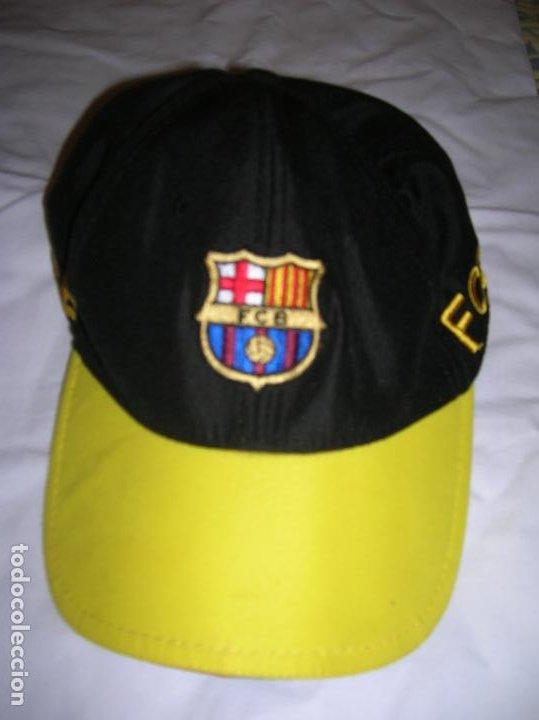 GORRA DEL BARÇA TAMAÑO AJUSTABLE (Coleccionismo Deportivo - Merchandising y Mascotas - Futbol)