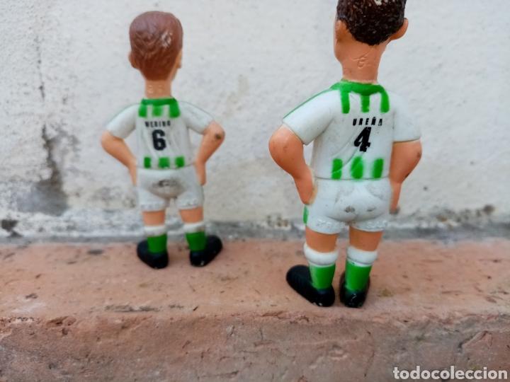 Coleccionismo deportivo: Muñecos Ureña y Merino del Betis - Foto 2 - 194770200