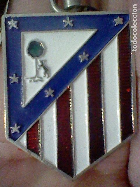 ATLETICO MADRID ESCUDO FUTBOL VINTAGE RETRO 3,5 CMS ALTO (Coleccionismo Deportivo - Merchandising y Mascotas - Futbol)