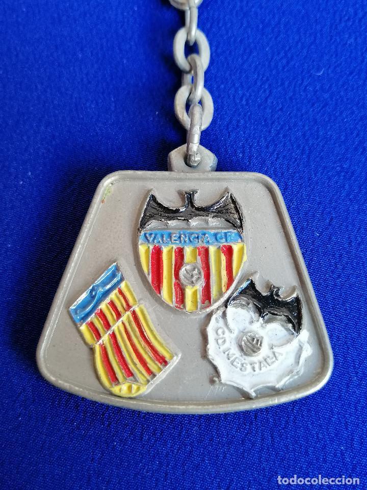 LLAVERO PEÑA VALENCIANISTA DE MELIANA (BODAS DE PLATA 1954-1979) (Coleccionismo Deportivo - Merchandising y Mascotas - Futbol)