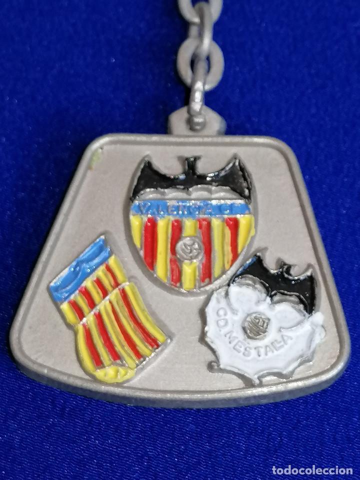 Coleccionismo deportivo: LLAVERO PEÑA VALENCIANISTA DE MELIANA (BODAS DE PLATA 1954-1979) - Foto 6 - 194871093