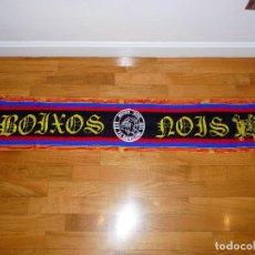 Coleccionismo deportivo: BUFANDA DE LOS BOIXOS NOIS - FC BARCELONA. Lote 194945360