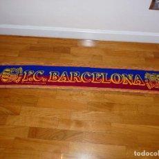 Coleccionismo deportivo: BUFANDA FC BARCELONA VINTAGE. Lote 194946508