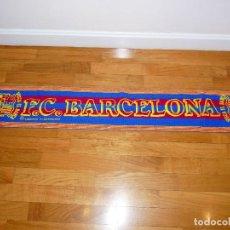 Coleccionismo deportivo: BUFANDA FC BARCELONA VINTAGE. Lote 194946787