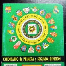 Coleccionismo deportivo: CALENDARIO DINAMICO 2011 2012 64 PAGINAS. Lote 194966892