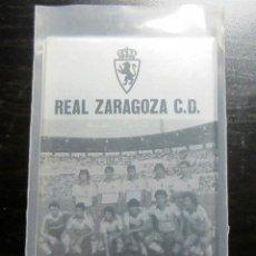 Coleccionismo deportivo: AGENDA TELEFONOS REAL ZARAGOZA 1982-83 50 ANIVERSARIO. Lote 195021200